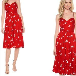 Nordstrom Midi Floral Dress
